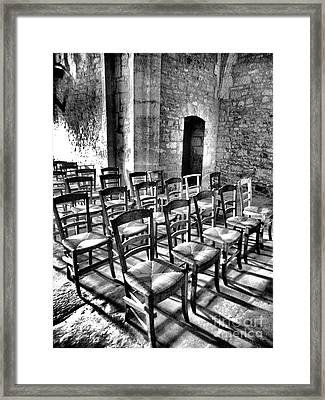 Waiting In Vain Framed Print by Lauren Leigh Hunter Fine Art Photography