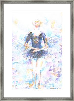 Waiting Framed Print by Jovica Kostic