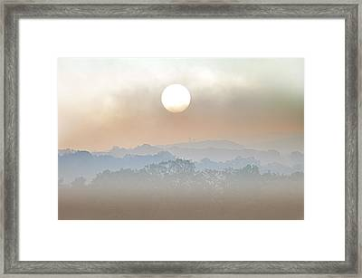 Waiting On A Sunny Day Framed Print by Bill Cannon