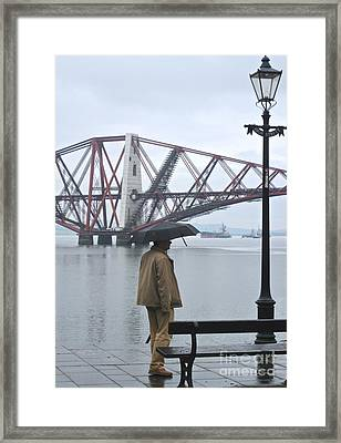 Framed Print featuring the photograph Waiting On High Street by Suzanne Oesterling