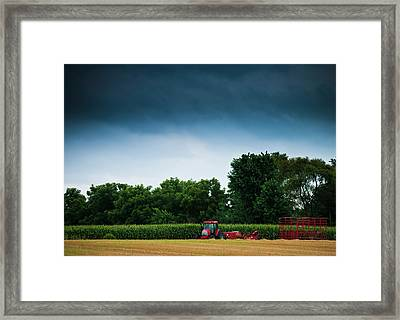Waiting Out The Storms Framed Print by Christi Kraft