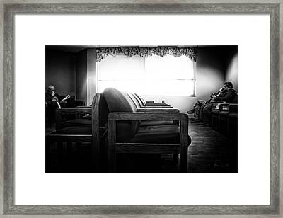 Waiting Room Framed Print by Bob Orsillo