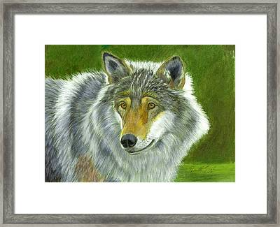 Waiting Framed Print by Ruth Seal