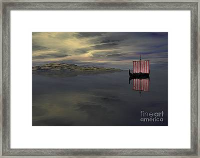 Waiting Framed Print by Sipo Liimatainen