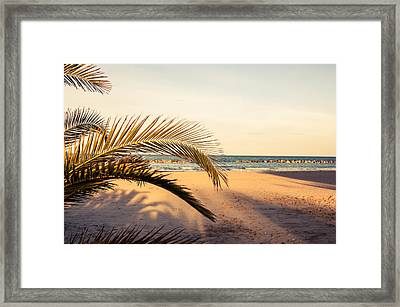 Waiting Summer Framed Print by Andrea Mazzocchetti