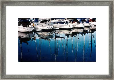 Waiting Framed Print