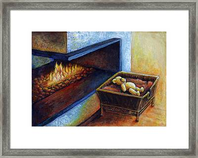 Waiting To Be Loved Framed Print by Retta Stephenson