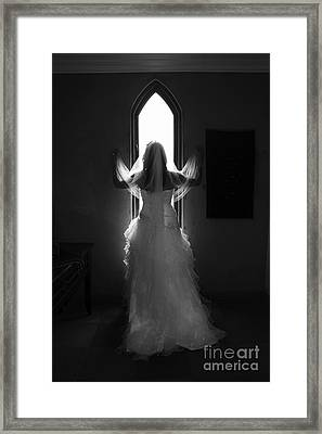 Waiting To Be Married Framed Print