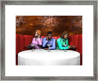 Waiting To Exhale Framed Print