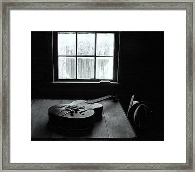 Waiting To Play Framed Print by EG Kight