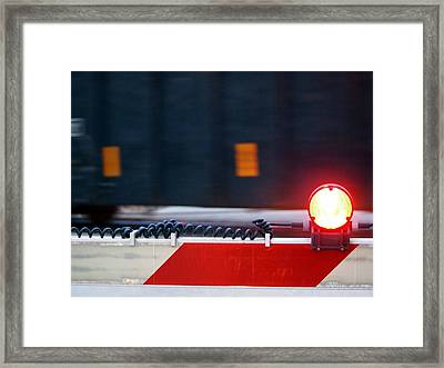 Waiting Framed Print by William Young