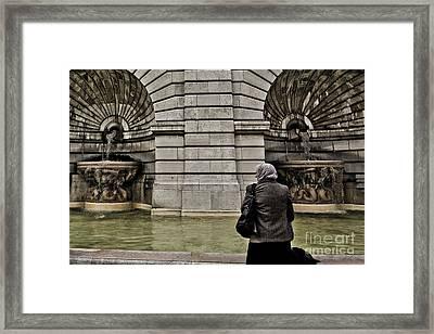 Waiting... Wishing... Framed Print by Will Cardoso