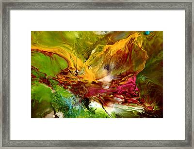 Wake Me Up Original Abstract Art Framed Print