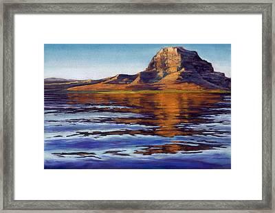 Wake Powell Framed Print
