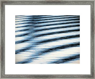 Framed Print featuring the photograph Wake by Ramona Johnston