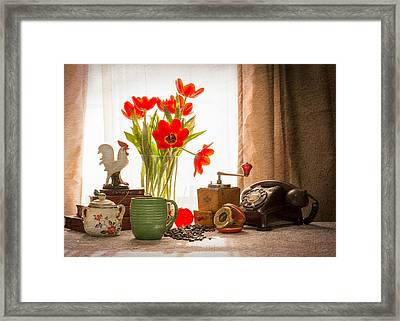 Wake-up Calls Framed Print by Jon Woodhams