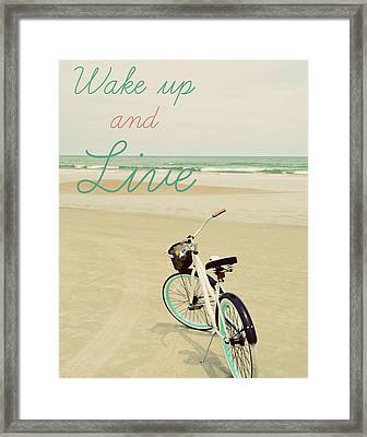 Wake Up Framed Print by Gail Peck
