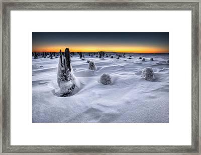Waking Of The Giant Framed Print by Jakub Sisak