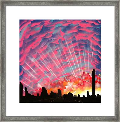 Waking Up Framed Print by Markus Fussell