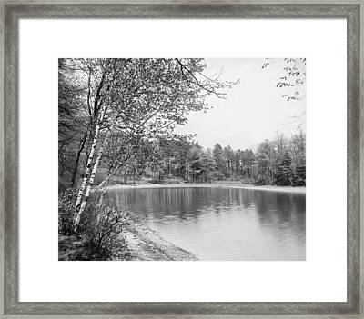 Walden Pond, C1905 Framed Print