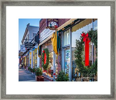Walden Street In Concord Framed Print by Susan Cole Kelly