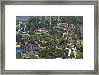 Walibi Park, Biddinghuizen Framed Print