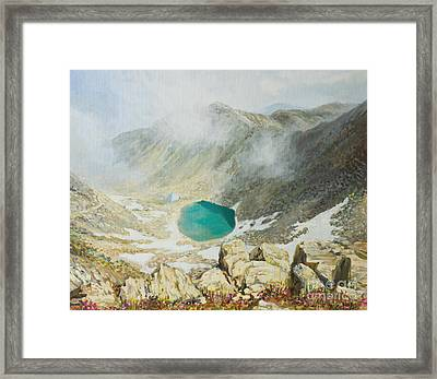 Walk In The Clouds Framed Print