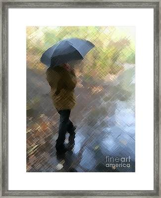 Walk In The Park Framed Print