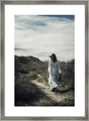 Walk In The Wind Framed Print by Joana Kruse