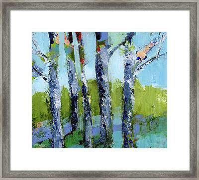 Walk In The Woods II Framed Print by Pamela J. Wingard