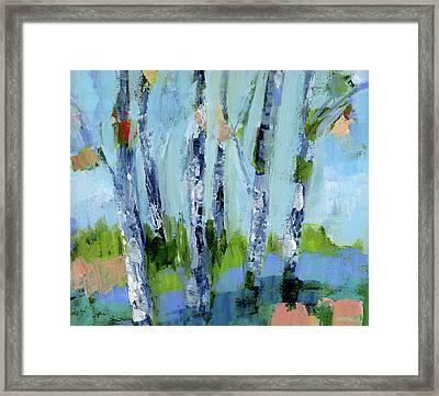 Walk In The Woods IIi Framed Print by Pamela J. Wingard