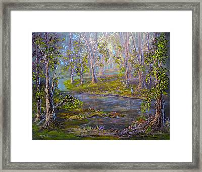 Walk In The Woods Framed Print