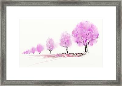 Walk Framed Print by Len YewHeng