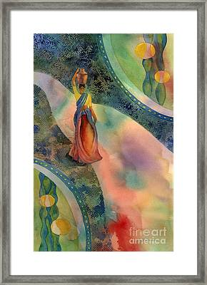 Walk Of Dawning Framed Print