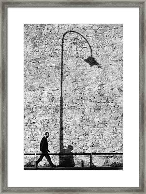 Walk Of Life  Framed Print by A Rey
