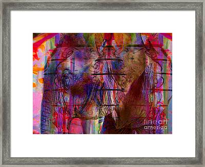 Walk On The Wild Side Framed Print