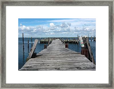 Walk Out Framed Print by John Rizzuto