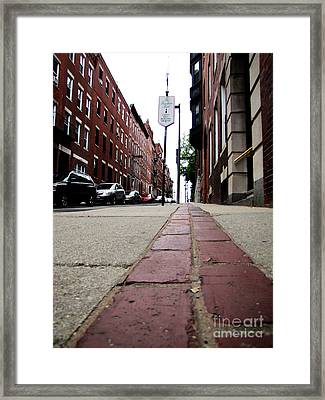Walk Framed Print