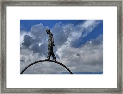 Walk The Ring Framed Print