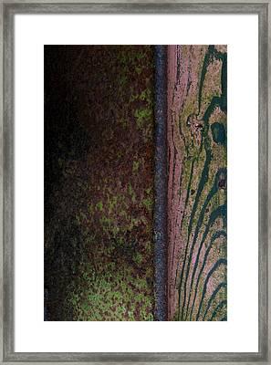 Walk The River Framed Print by Odd Jeppesen