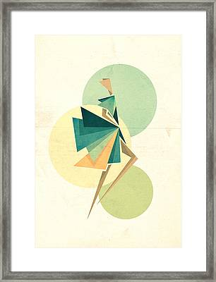 Walk The Walk Framed Print by VessDSign
