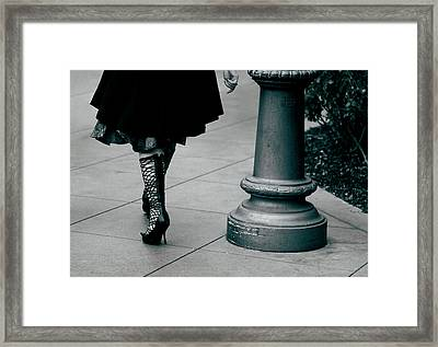 Walk This Way Framed Print