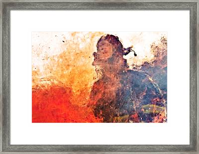 Walk Through Hell Framed Print