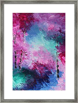 Walk Through This World With  Me Framed Print by Steven Lebron Langston