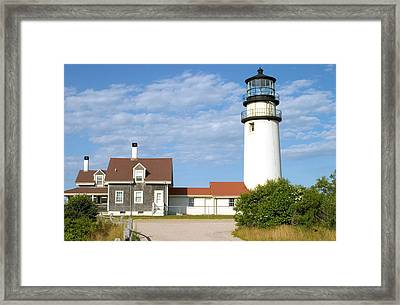 Walk To The Lighthouse Framed Print by Jeff Folger