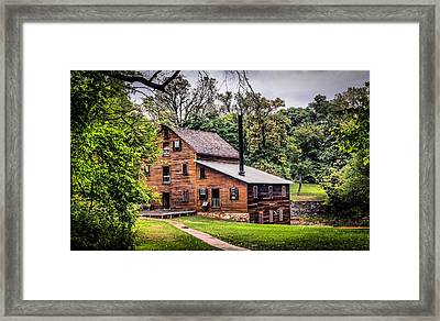 Walk To The Mill Framed Print