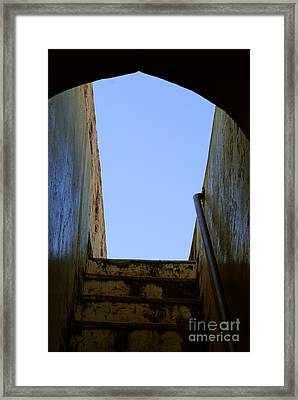 Walk To The Sky Framed Print