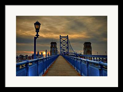 Philadelphia Photographs Framed Prints