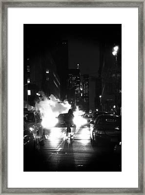 Walker Framed Print by Emmanouil Klimis