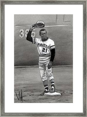 Mr. 3000 Framed Print by William Western